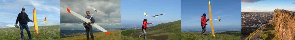 Gliding Parorama Forth valley Soarers
